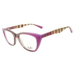 Ray-Ban Eyeglasses Grad Antique Pink On Pink